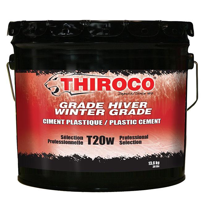 Winter-Grade Professional Plastic Cement - 13.6 kg