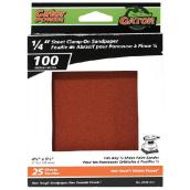 Gator Sandpaper for Clamp-On Sanders - 100 Grit - 25-Pack
