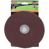 "Sanding disk - 7"" - Grit 50 - Pack of 3"