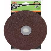 "Sanding disk - 7"" - Grit 36 - Pack of 3"