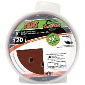 Gator Sanding Disk - 8-Hole - 120 Grit - 50-Pack