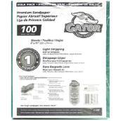 Coarse Premium Sandpaper 100 Grit - 120/Pack