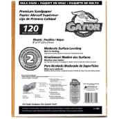 Medium Premium Sandpaper 120 Grit - 120/Pack