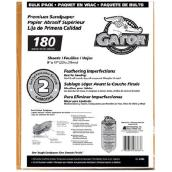 Medium Premium Sandpaper 180 Grit - 120/Pack
