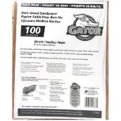 Bare Wood Medium Sandpaper 100 Grit - 120/Pack