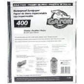 Papier abrasif très fin grain 400, 120/paquet