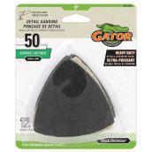 Detail Sanding Sheets - 50 Grit - 12-Pack