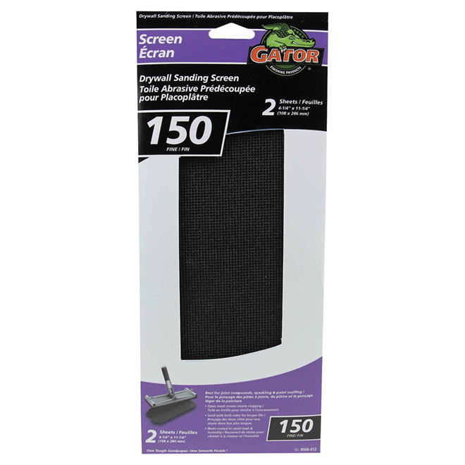 Drywall Sanding Screen - 150 Grit - 2-Pack