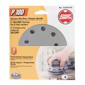 "Sanding Discs - 180 Grit - 8 Hole - 5""- 6 Pack"