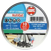 "Cutting Wheel - MultiCut - 4 1/2"" - 10-Pack"
