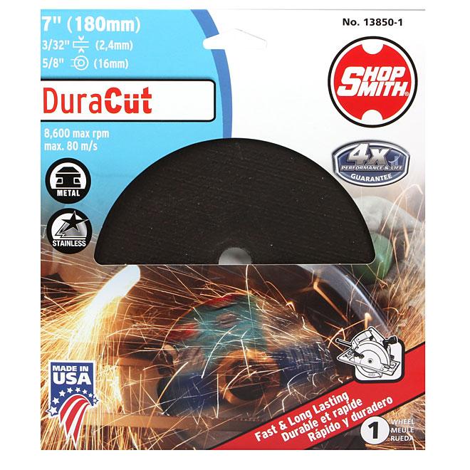 Meule à découper le métal, DuraCut, 7 po