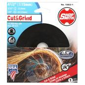 Metal Cutting Wheel - Cut&Grind - 4 1/2""