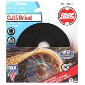 Meule à découper le métal, Cut&Grind, 5po