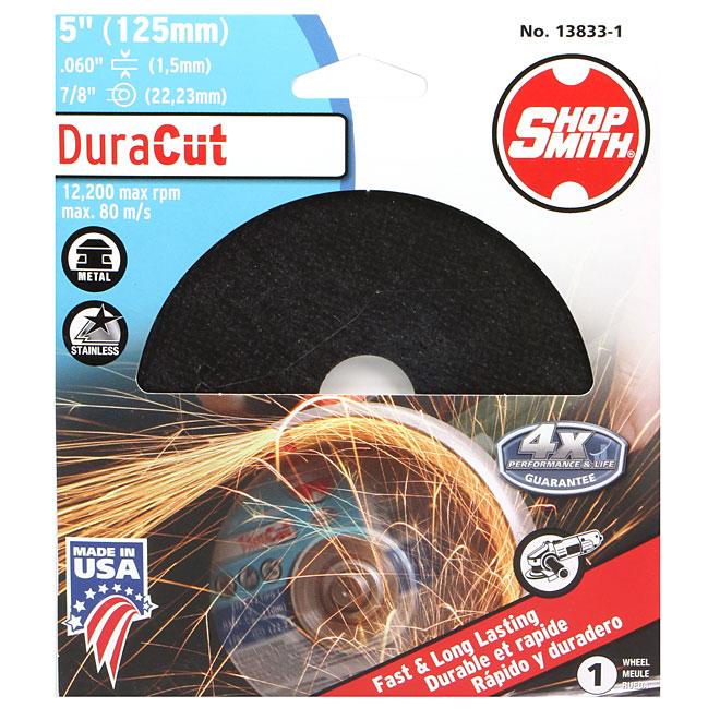 Meule à découper le métal, DuraCut, 5 po