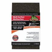 Sanding Sponge - Coarse/Medium - 3'' x 5'' - Pack of 2
