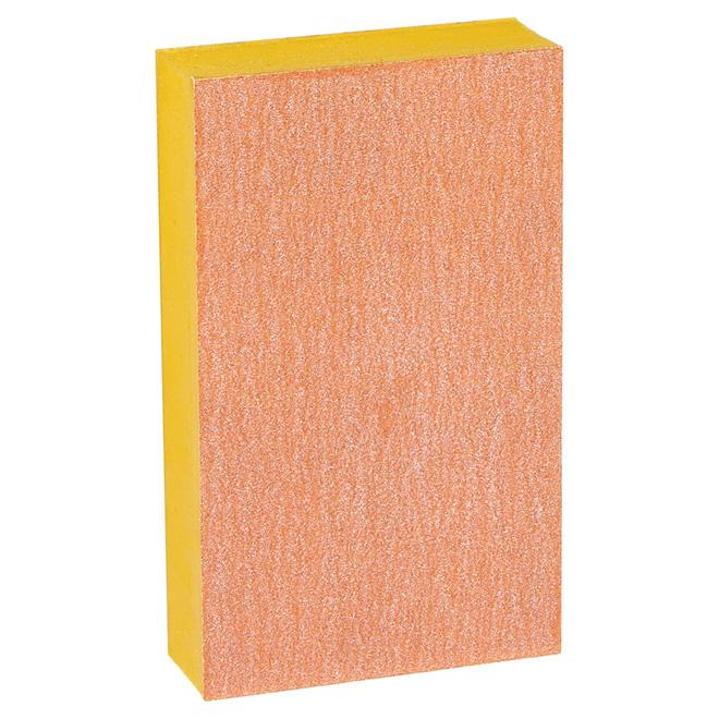 Éponge à poncer supérieure de finition, grain 120, 3 x 5po