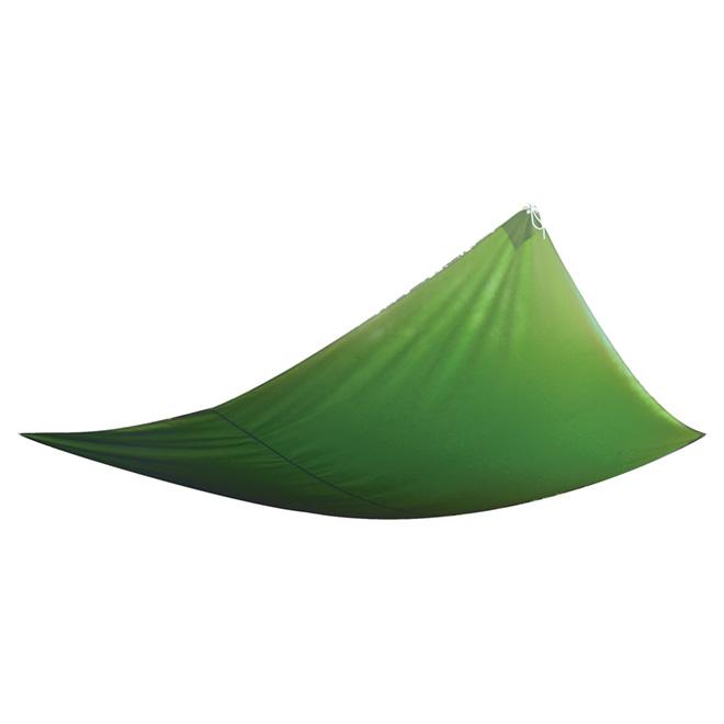 Toile pare-soleil carrée, 11,8 pi, verte
