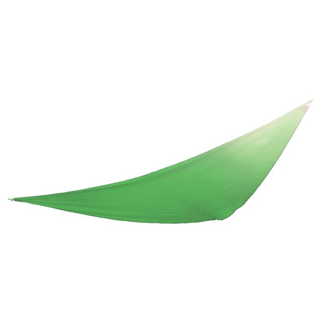 Toile pare-soleil triangulaire, 9,8 pi, verte
