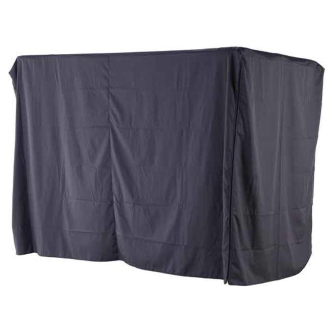 Housse pour balançoire de patio, 87,4 po, grise