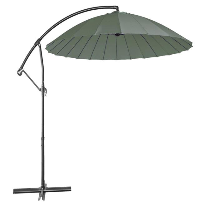 Cantilever Patio Umbrella   10u0027   Dark Grey