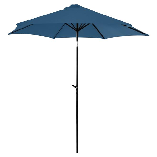 Parasol de patio inclinable, 7,5', marine