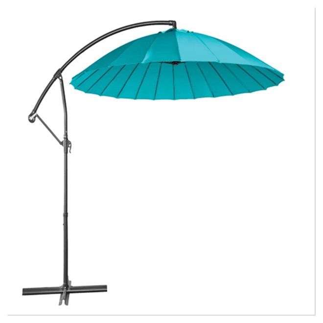 Cantilever Patio Umbrella - Round - 10' - Aqua