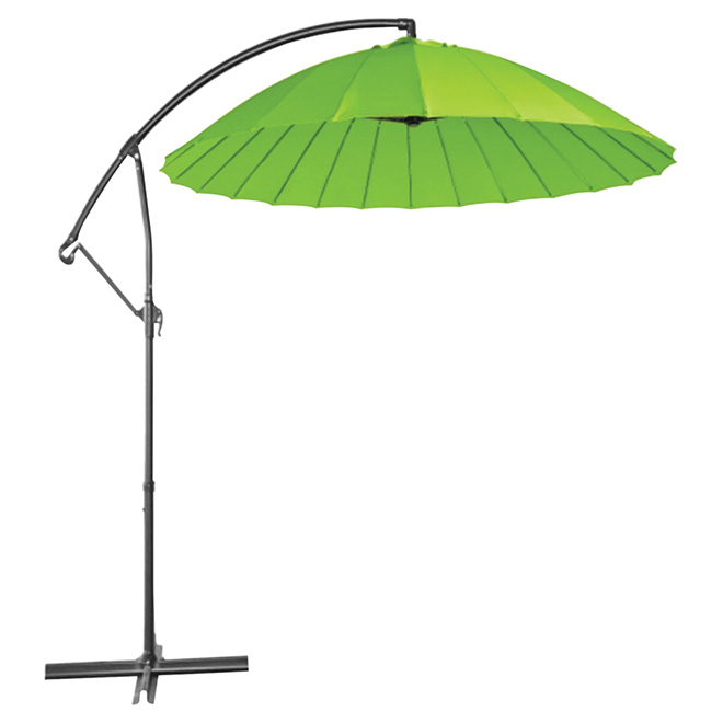 Cantilever Patio Umbrella - Round - 10' - Green