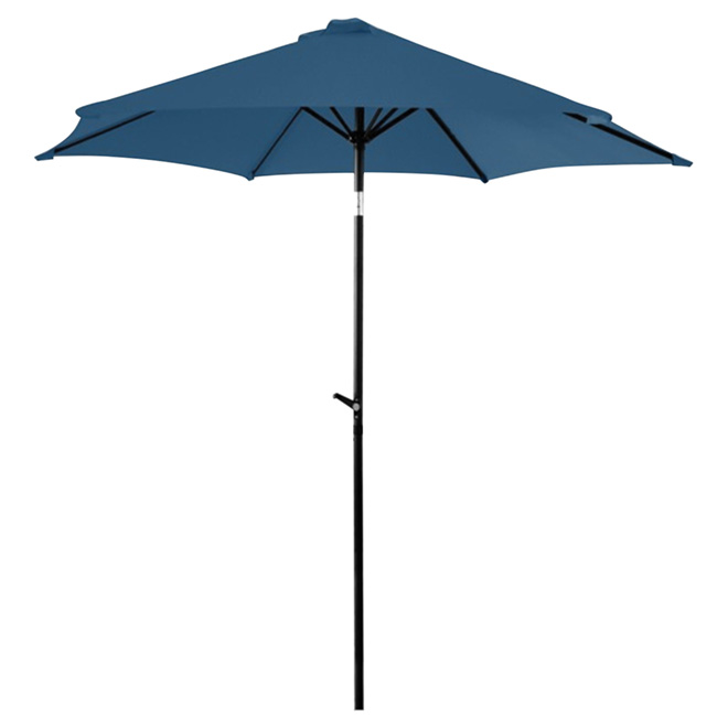 Parasol de patio inclinable, 8,8', marine