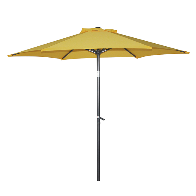 Patio Tilting Market Umbrella - 7.5' - Yellow