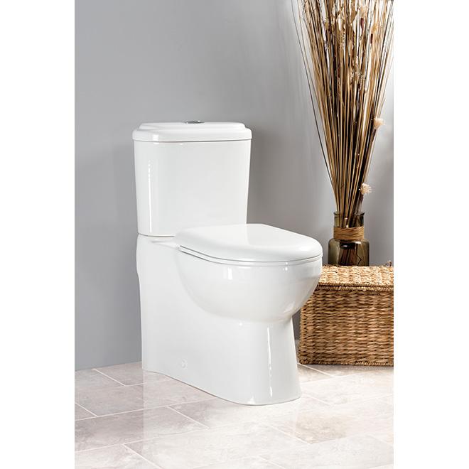 Toilette 2 pièce à double chasse