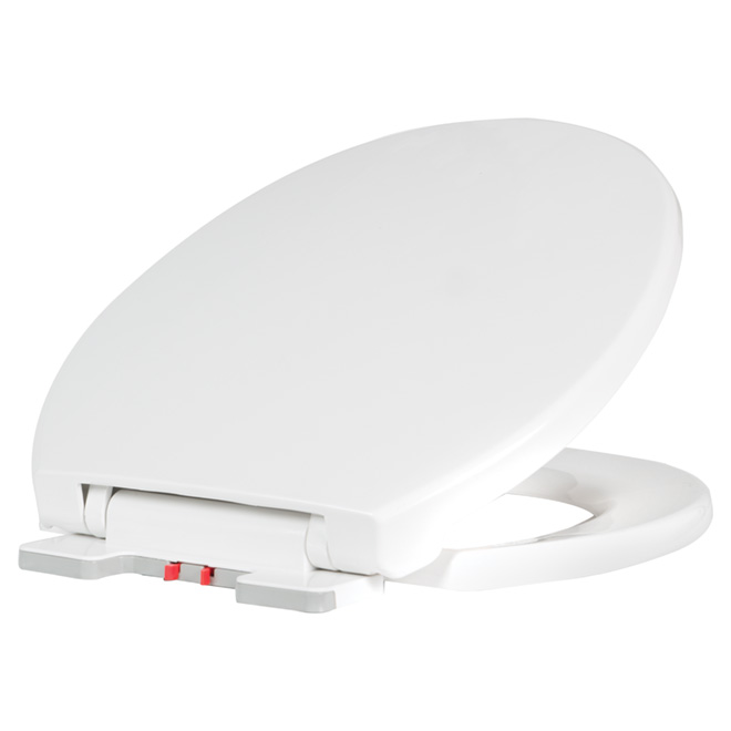 Plastic Toilet Seat - Regular - White