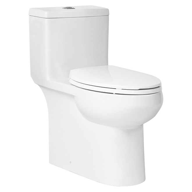 Elongated Front Toilet -Dual Flush - Porcelain - 3L/4.8L