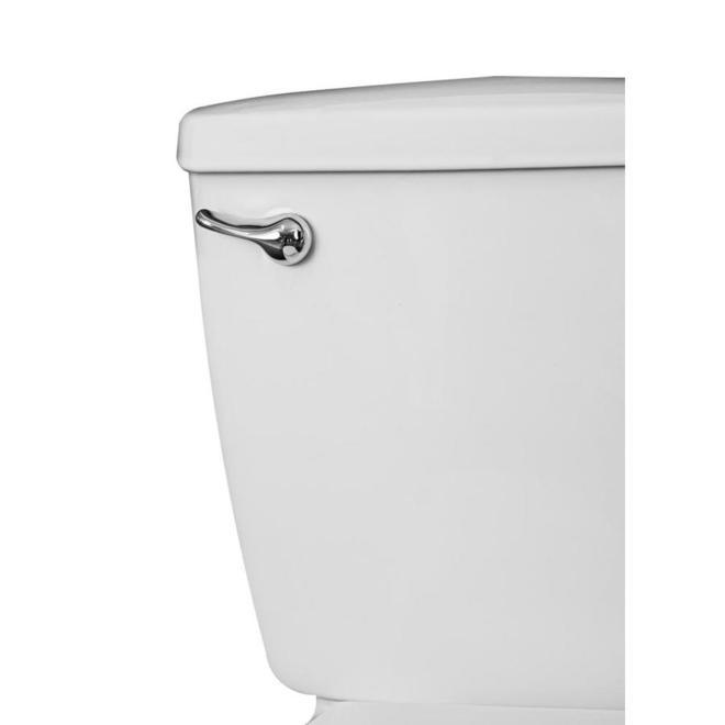 Toilette 2 pièces Toilet to Grab de Project Source, cuvette ronde, 6 L, blanche