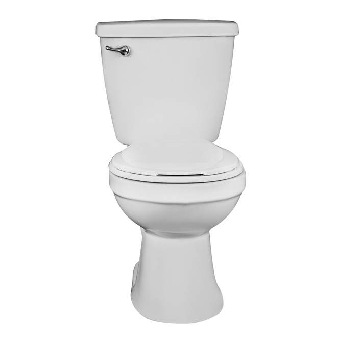 Project Source Eco to Go 2-Piece Toilet - Round Bowl - 4.8-L