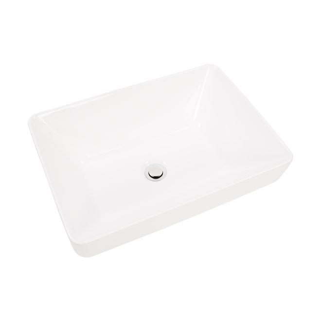Project Source Ascillia Semi-Recessed Vessel Sink