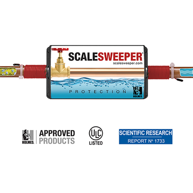 Scalesweeper(R) Electronic Water Descaling Device