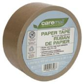 Caremail Adhesive Paper Tape - 1.88-in x 120-ft - Brown
