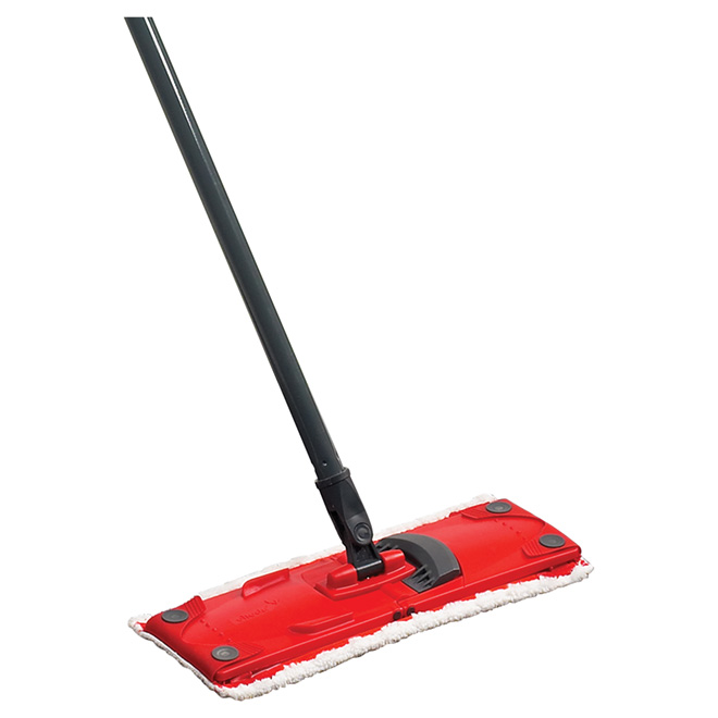 UltraMax Complete Set - Mop and Bucket - Red and Grey