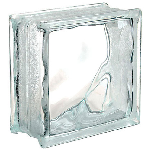 Bloc de verre «Nuage»