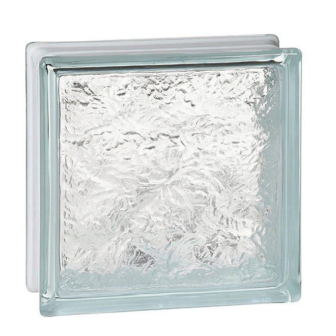 Bloc de verre «Verglas»