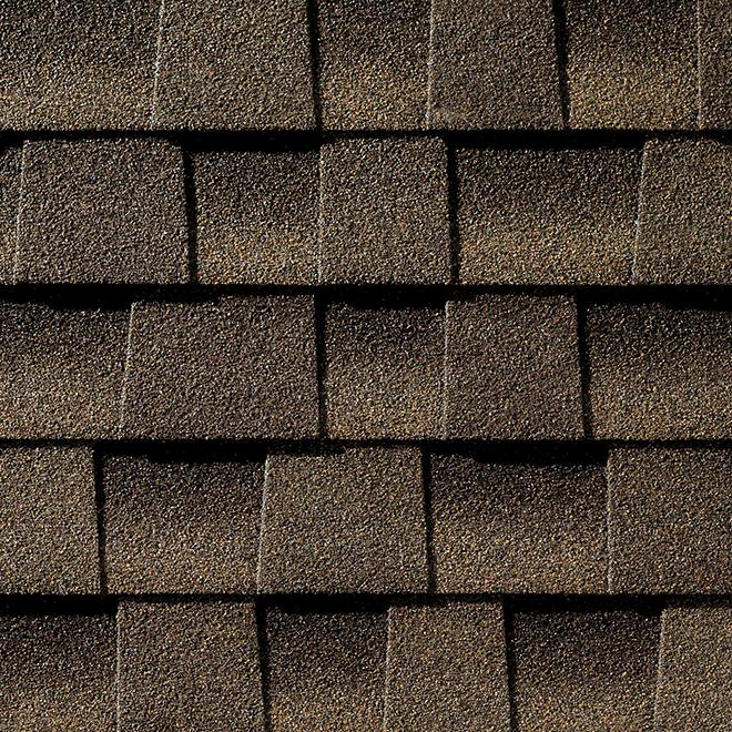 Bardeaux de toiture «Timberline HD», 3,33 pi², bois de liège