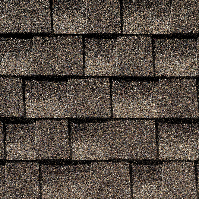 Bardeau de toiture, 3,33 pi², brun missisipi