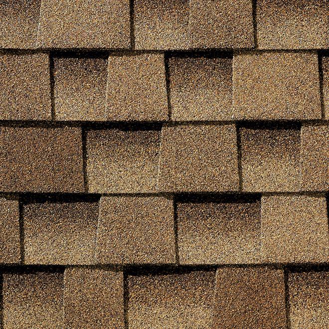 Bardeau de toiture, 3,33 pi², shakewood