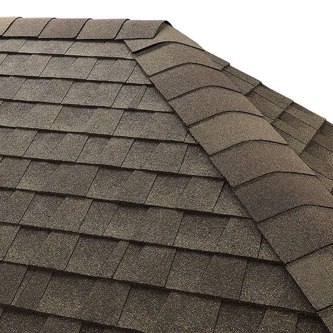 Protective Ridge Cap Shingles - 20 l.ft. - Weatherwood