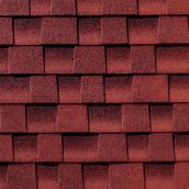 Bardeau d'asphalte de Timberline Ultra HD, rouge patriote