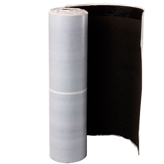 Membrane étanche, Shinglemate, noir, 432 pi²