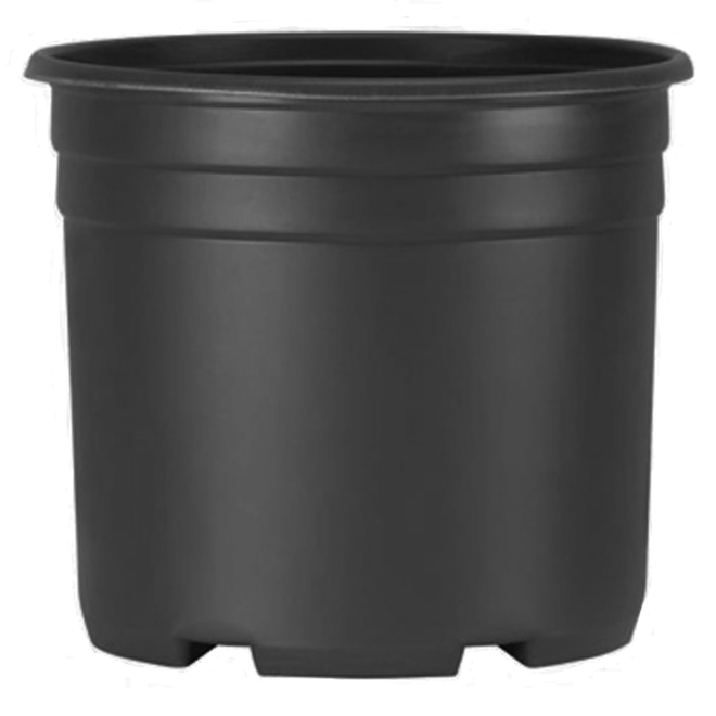 Planters Pride Nursery Pot - Resin 3 Gallons Black