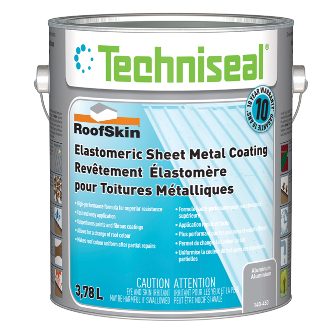 Elastomeric Sheet-Metal Coating