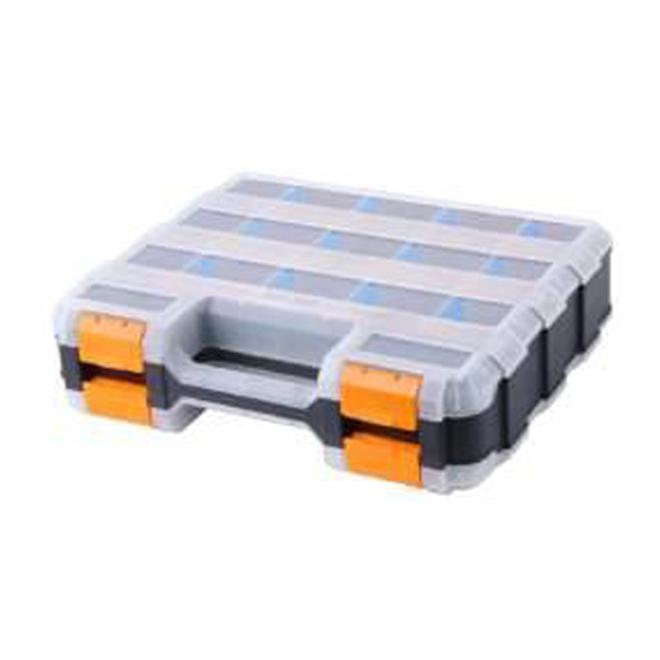 Organisateur à 15 compartiments en plastique