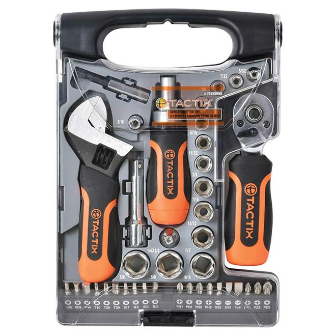 Ensemble d'outils courts - 40 pièces